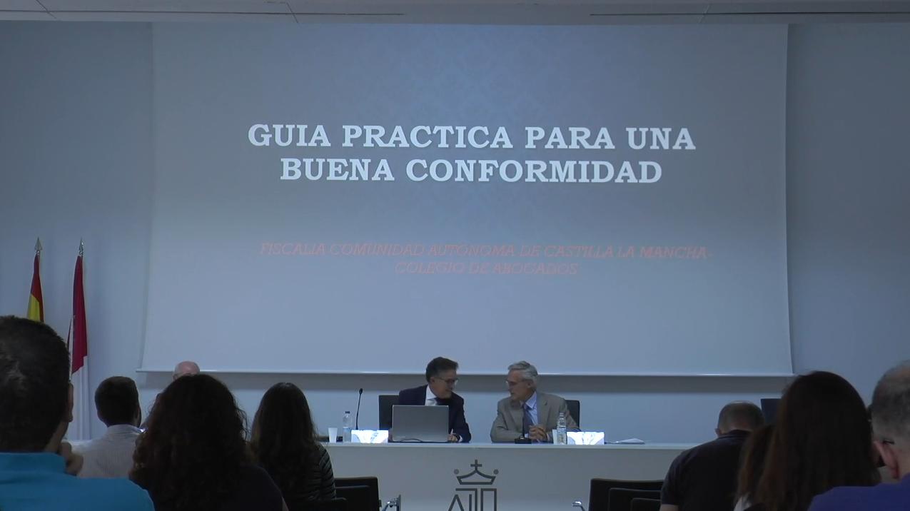 Jornada de presentación de la GUIA PRÁCTICA DE CONFORMIDADES de la Fiscalía Superior de Castilla-La Mancha