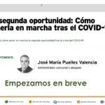 WEBINAR SEPIN: LA SEGUNDA OPORTUNIDAD. CÓMO PONERLA EN MARCHA TRAS EL COVID